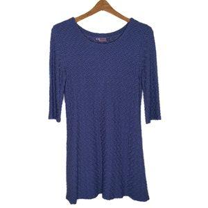 Tianello Textured Knit Lou Ann Tunic Top